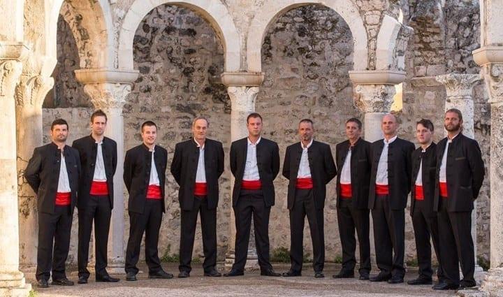 Traditional Dalmatian music: Klapa - Šimuni