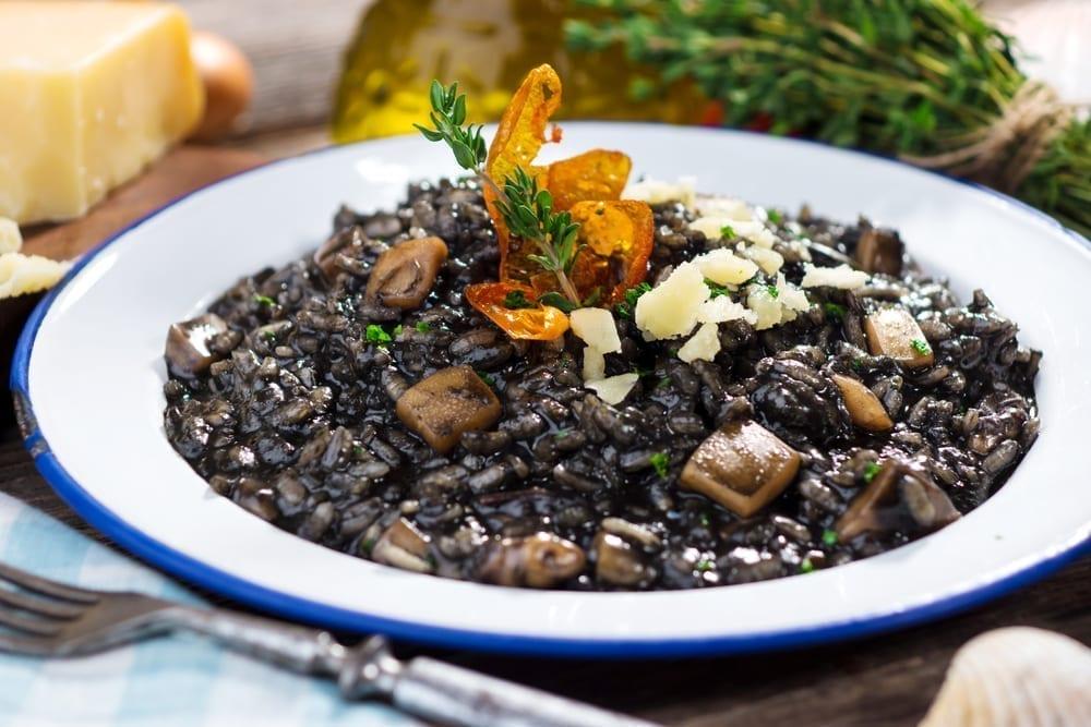 black risoto,delicious,food,traditional,www.zadarvillas.com